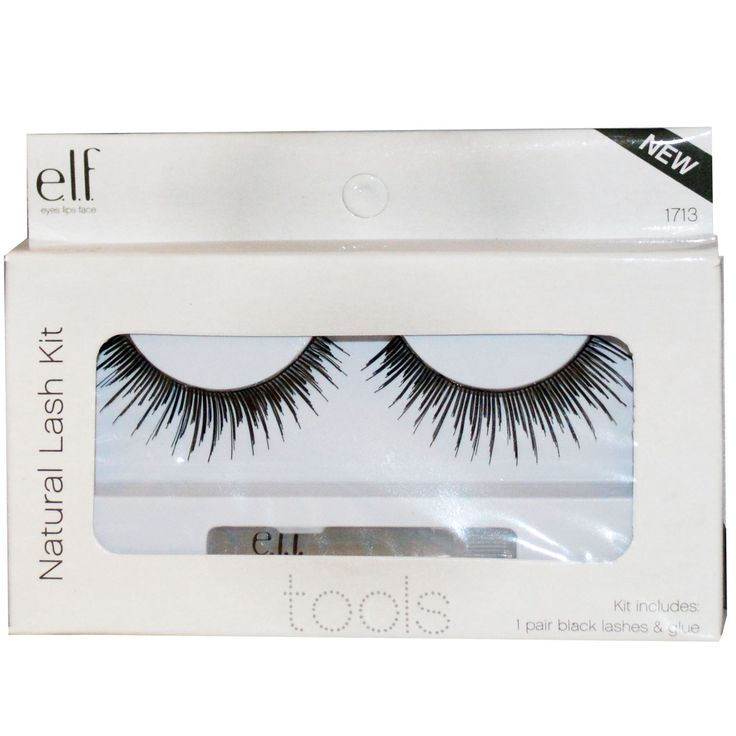 e.l.f. Dramatic Lash Kit #1713 Black-Easy Every Day Look! easy to apply due to thin flexible eyelash band, budget friendly, adhesive included (used Ardell Duo Eyelash Adhesive Dark Tone instead), I need to trim edges to fit, just $1, Target