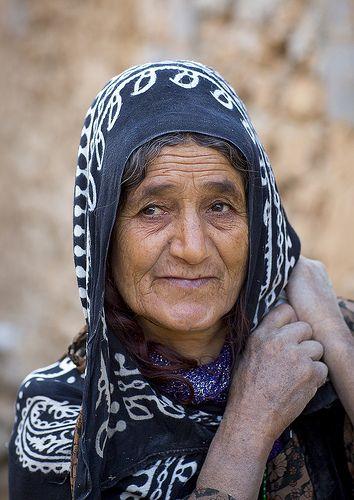˚Kurdish Woman, Palangan, Iran
