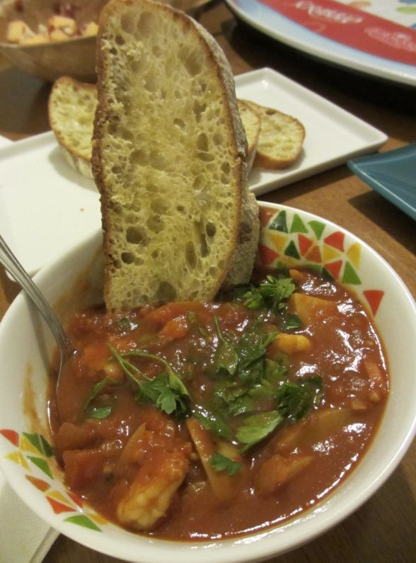 It's been a long time since I've made the Ligurian Fish Stew, a recipe I got from Giada De Laurentiis' cookbook, Giada At Home . But th...