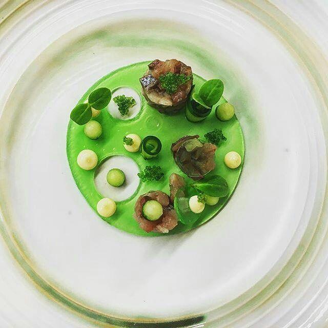 "By @chefgunterpaffendorf ""Tartare herring / cucumber jelly / sweet and sour cucumber / kewpie mayonnaise / wasabi caviar / borage cress."" #foodphotography #f52grams #food #foodporn #gourmet #instagramfood #chef #foodart #lovefood #artofplating #instafood #yummy #foodpic #photooftheday #instagourmet #dinner #foodvsco #dessert #delicious #taste #foodartchefs #eat #gastronomy #love #foodie #cook #cooking #foodgasm #culinaryart"