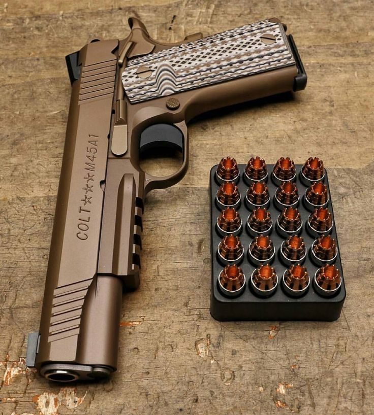 Colt 1911, guaranteed self preservation & beauty all in one package...