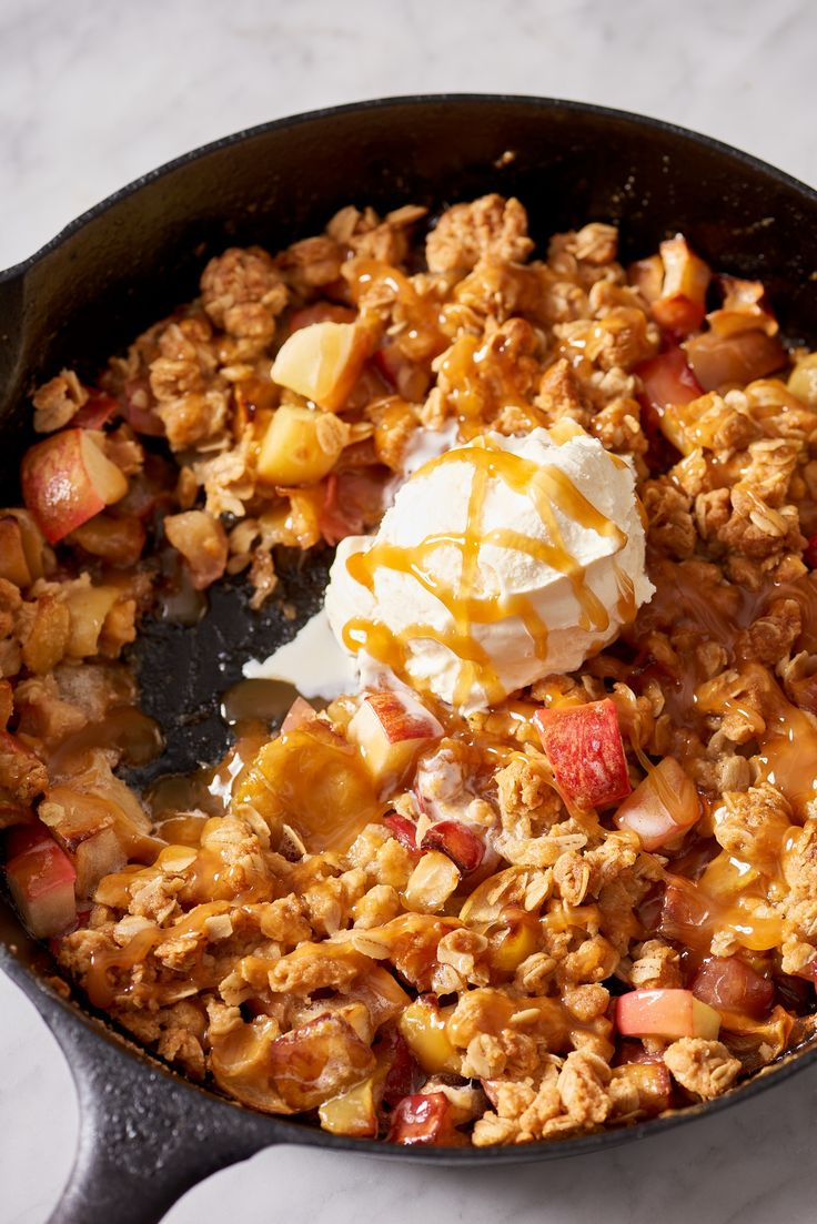 Recipe: Skillet Apple Crisp — Easy Dessert Recipes