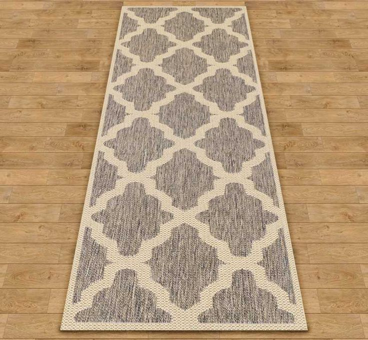 Trellis - Grey Hall Runner Rugs | Modern Rugs