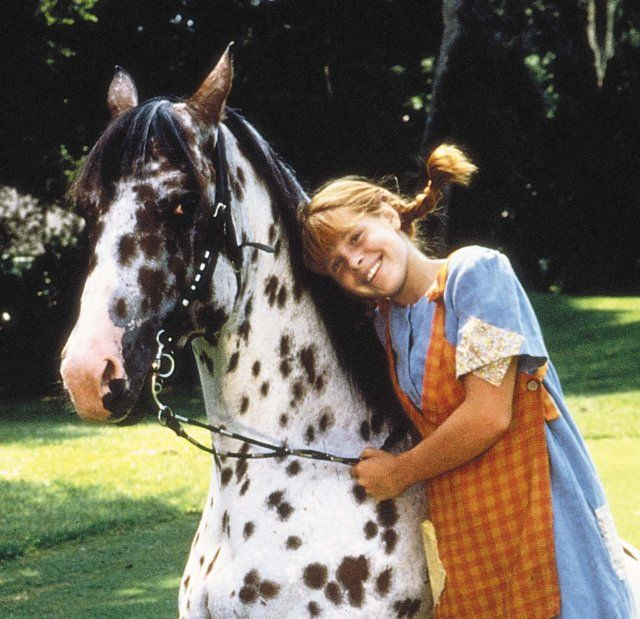 Pippi Longstocking.  I loved it as a kid, but now when I have seen the show I think it is somewhat gross.  haha