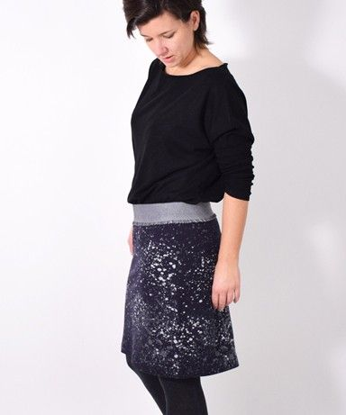 EASYPEASYrock • Nähanleitung + Schnittmuster • leni pepunkt • einfach • nähen • DIY easy • sewing pattern women • Damen • skirt • easy • beginner • ebook