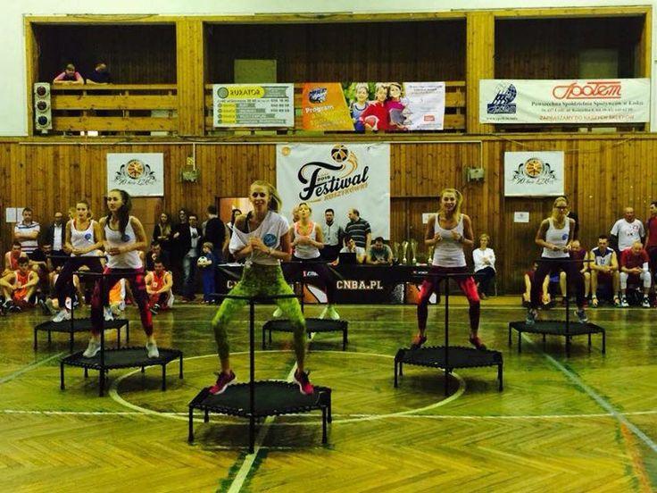 Festiwal Koszykówki 2015 w Łodzi. Dziewczyny dały z siebie wszystko!  #fitandjump #sport #fitness #jump #body #training #trening #girls #workout #trampolina #trampoliny #trampoline #lodz #basketball #koszykowka