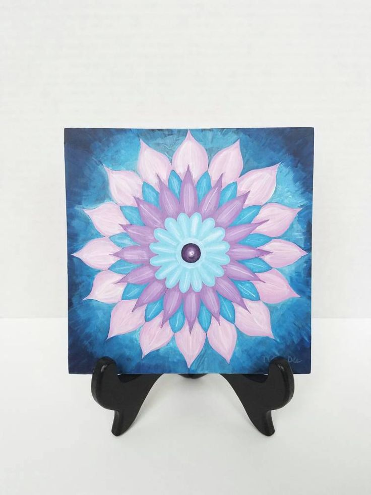 Original Mandala Painting - Mandala Art - Harmony Art - Original Mandala Drawing - Yoga & Meditation Art - Spiritual Painting - Flower Art by TiaraDeeArt on Etsy