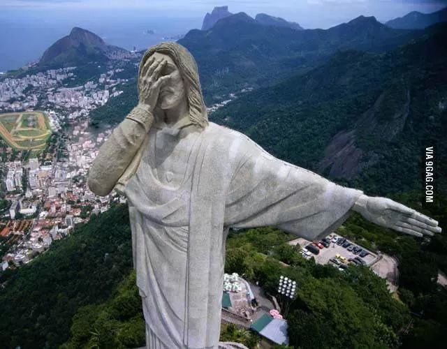 Christ's statue@Brazil | πλακ@τ - quotes from social ...