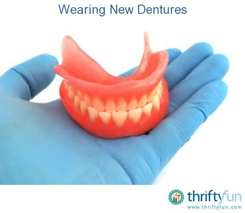 25 best dentures images on pinterest dental tooth and dentistry this guide is about wearing new dentures getting accustomed to false teeth takes some patience solutioingenieria Image collections