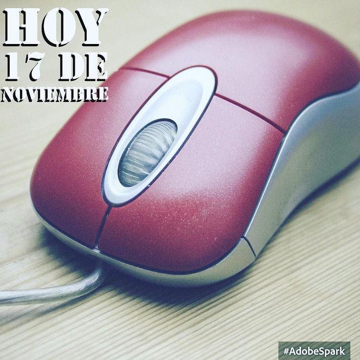 Buenos días hoy 17 de noviembre  Invención del ratón (1970)  Douglas Engelbart fue el inventor del ratón uno de los dispositivos que más contribuyeron a la popularización de la computación personal... Ver más link en la Bio. #buenosdias #goodmorning #islademargarita #instagram #venezuela #tumejornocopias