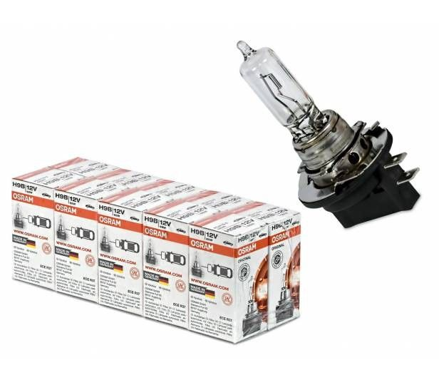 Osram Original Line 12v H9b 64243 Autolampe 10 Stuck Osram Lampen Autos
