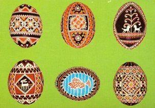 Pysanka Postcards: Surma