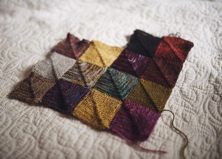 45 Best Images About Sock Yarn Blanket On Pinterest