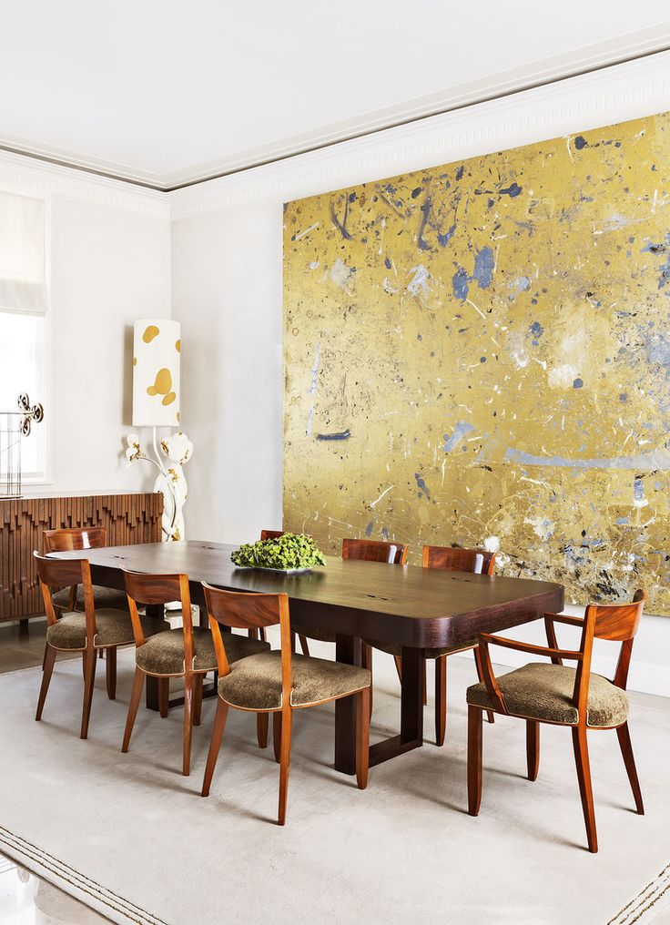 Best wall art for dining room contemporary photos home for Modern dining room ideas pinterest