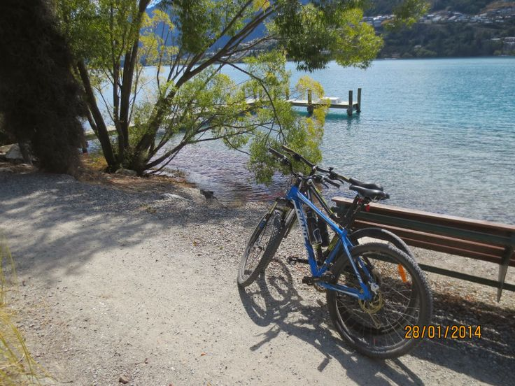 The Travelling Lindfields: Queenstown and the flying bicycles.