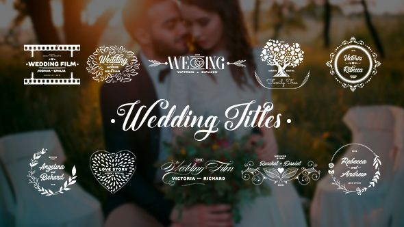 Wedding Titles By Andrewhlus Project Features 10 Wedding Titles Vector Files Also Included Adobe Illustr Wedding Titles Wedding Wedding Invitation Envelopes