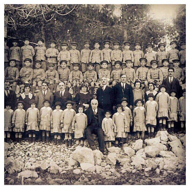 Armenian orphanage, Jerusalem, 1918