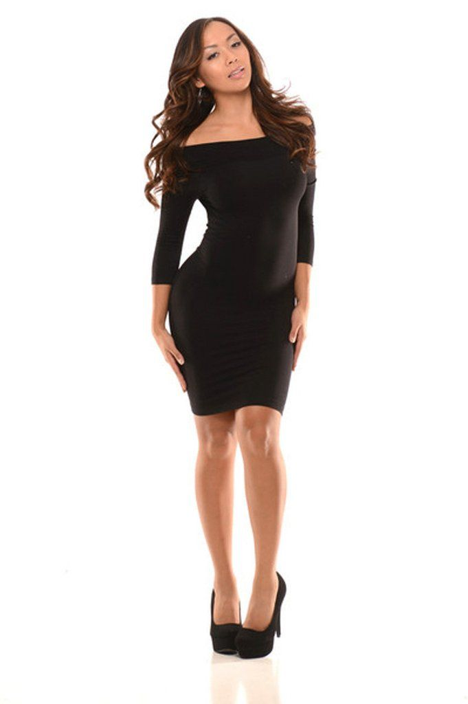 Summer Style All Curves Mini Dress Sexy Off The Shoulder Dress With A Perfect Stretch Long Sleeve Patry Dresses For Women