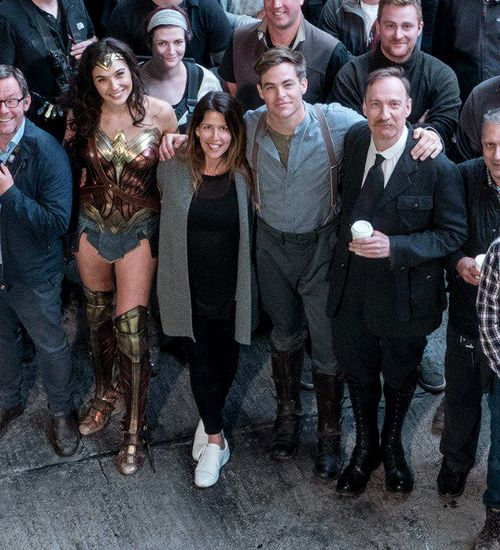 Clearly the set of Wonder Woman :)