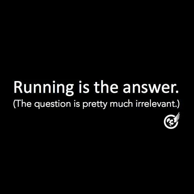 short funny running quotes