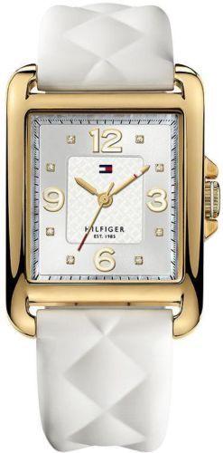 Tommy Hilfiger White Quilted Silicone Ladies Watch 1781246 | eBay
