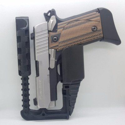 ZeroCarry - Universal IWB Concealed Carry Holster - Fits all models and calibers of handguns