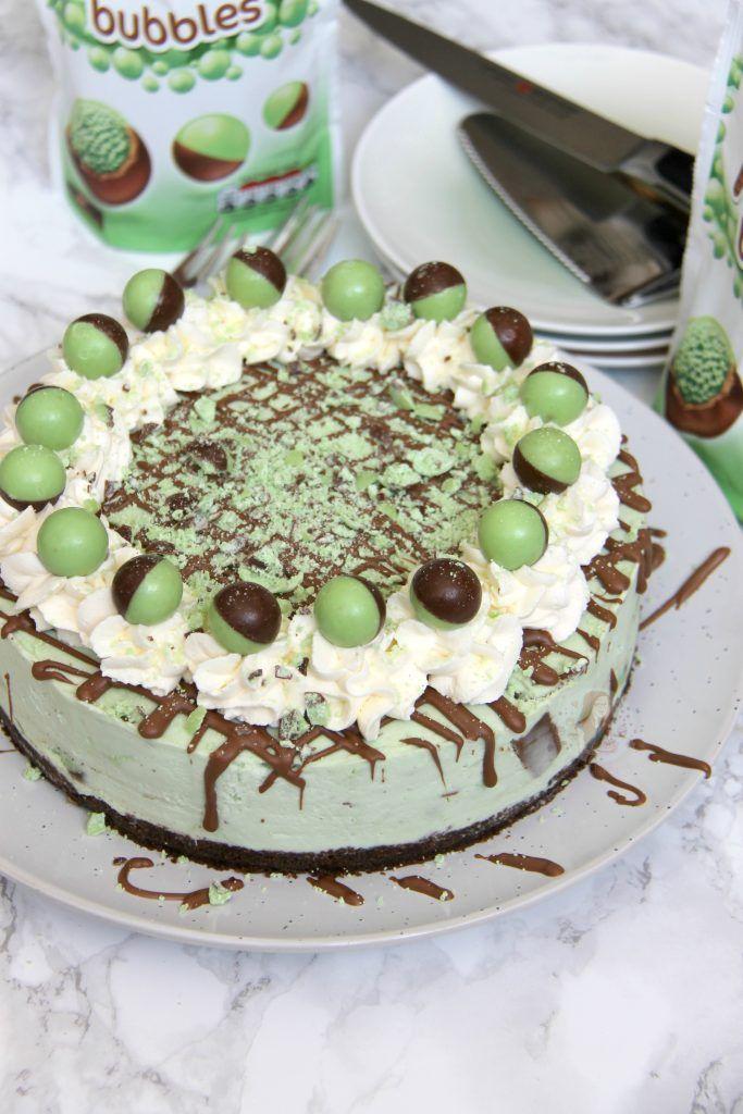 No-Bake Mint Aero Cheesecake! - Jane's Patisserie