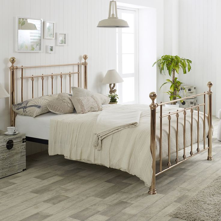 Libra King Metal Bed Frame  Rose Gold. Best 25  King metal bed frame ideas on Pinterest   Victorian beds