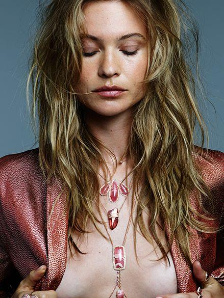 BEHATI PRINSLOO FOR JACQUIE AICHE FALL 2015   Photographer: Naj Jamai, Model: Behati Prinsloo, Stylist: Chloe + Marielou Bartoli, Hair: Christian Wood, Make-up: