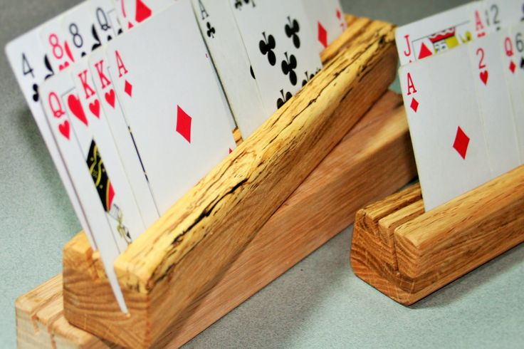 Playing Cards Holder | DIY, Wood Working, Furniture | Pinterest | Watches, Card holders and ...