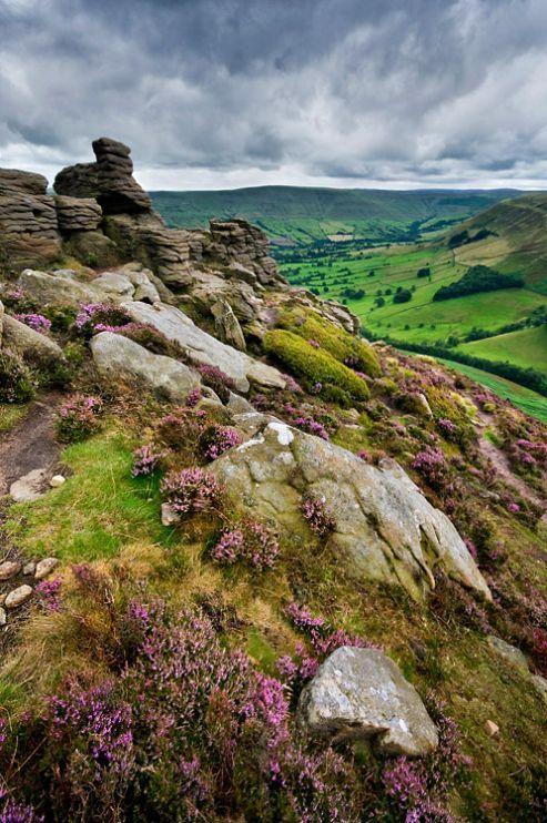 'Blooming Peaks' by bart_hoga Hope Valley, The Peak District, UK
