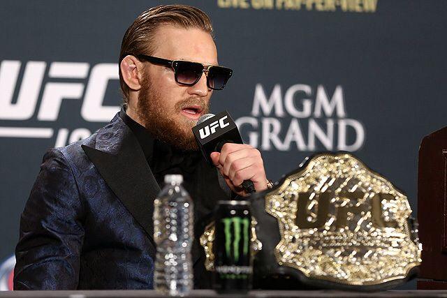 Conor McGregor x Dita Mach three sunglasses