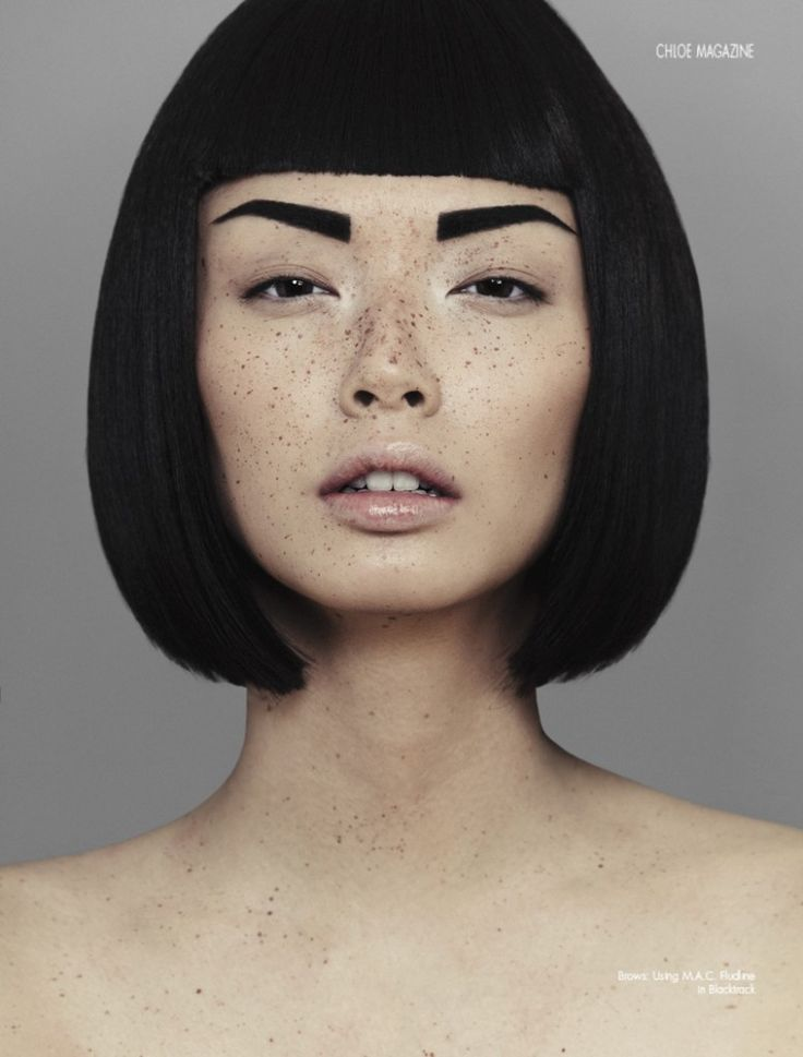 Alice Ma | Alice Ma by Alex Evans for Chloe Magazine Spring 2014 Issue | A ...  #ladynoir #noirnation