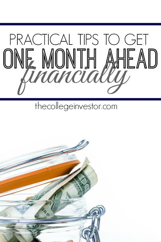 If you're living paycheck to paycheck one of the first things you should is try and get one month ahead financially. Here are some practical tips to help. http://thecollegeinvestor.com/17046/how-to-get-one-month-ahead-financially/ Personal Finance tips