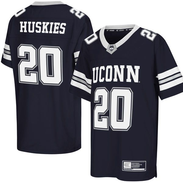 UConn Huskies Colosseum Youth Football Jersey - Navy - $44.99