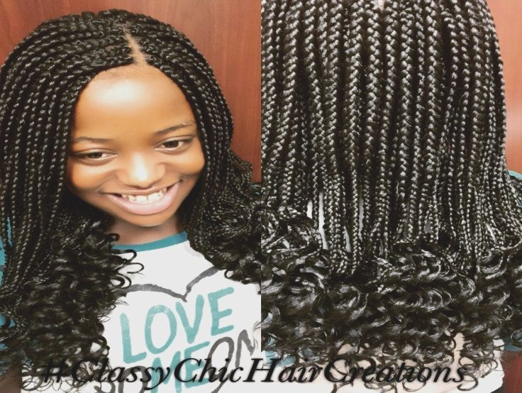 Image Result For Box Braids For 12 Year Olds Kids Hairstyles Hair Styles Girls Braids