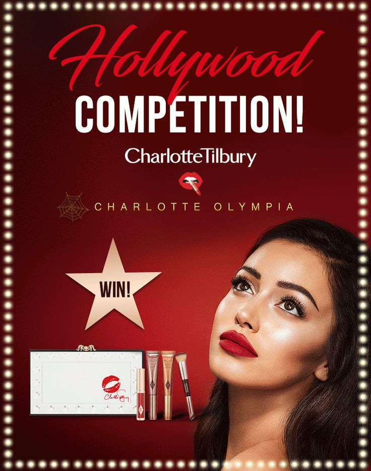 Hollywood Competition - Hollywood - Makeup - Products   Charlotte Tilbury