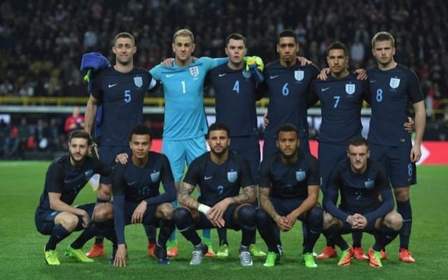 awesome (Photo) Blue England kit divides fans as Three Lions debut new strip in Germany Check more at https://epeak.info/2017/03/22/photo-blue-england-kit-divides-fans-as-three-lions-debut-new-strip-in-germany/