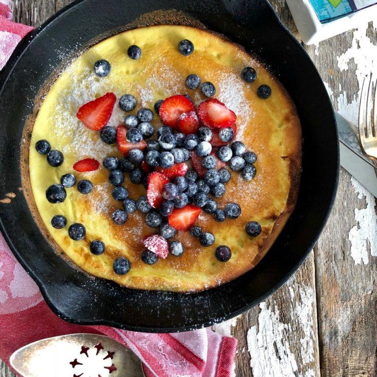 Grain Free Dutch Baby | Recipe | Almond flour, Baking with ...