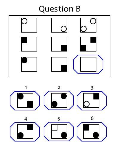 Simple intelligence test