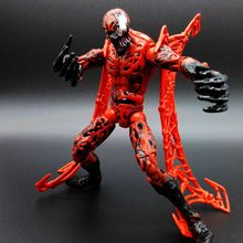 Marvel 15cm Carnage Action Figure Spider-Man Red Venom Cletus Kasady Decoration Toy Model PVC Figurine Free shipping