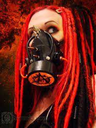 Image result for mujeres con mascaras de gas