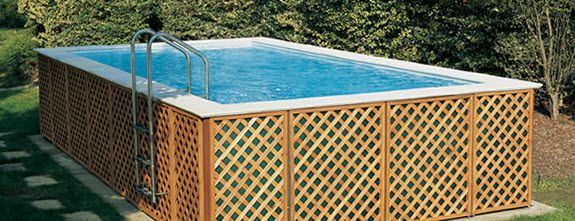 above ground portable swimming pools - Google Search