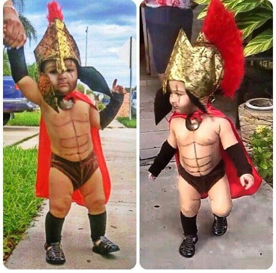 Baby 300 Spartan Costume Halloween costume baby boy