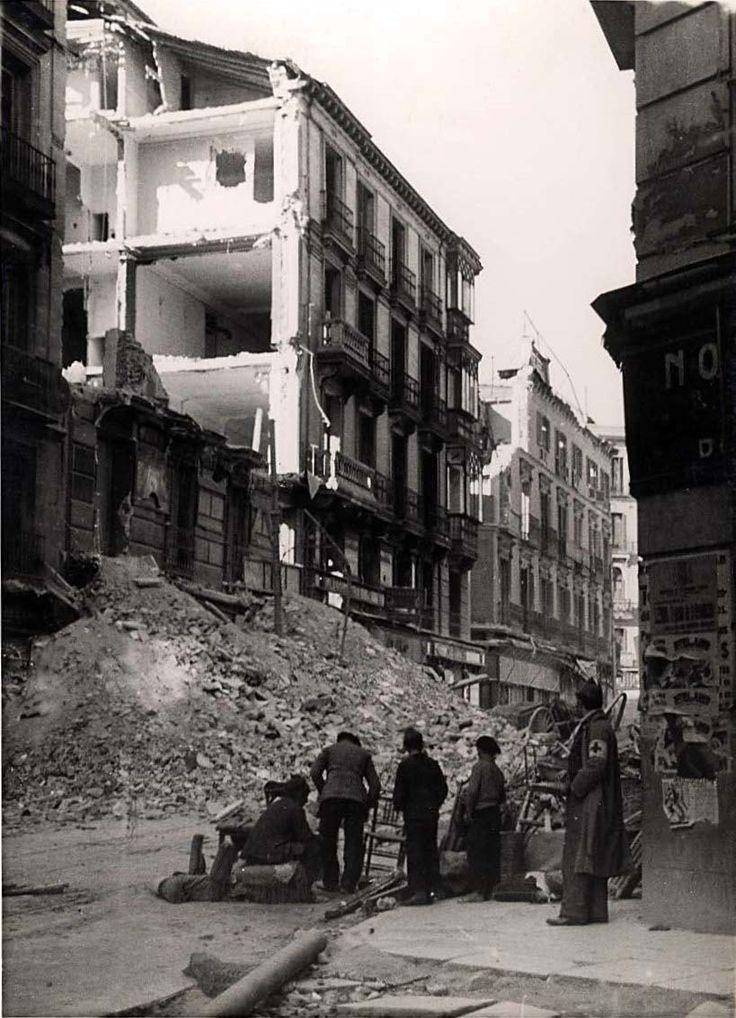 Spain - 1936. - GC - Calle del Carmen, Madrid