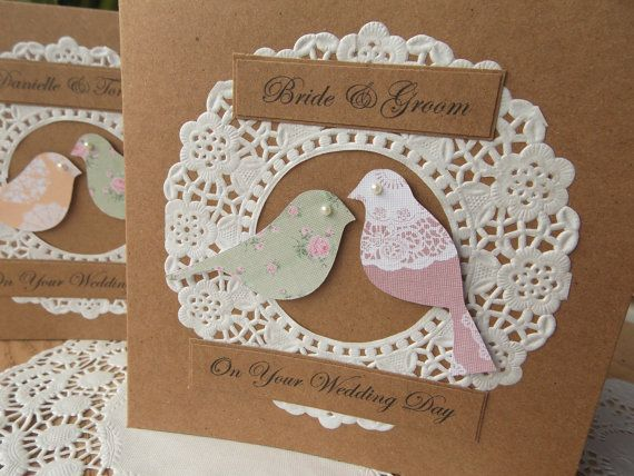 Engagement Card Wedding card Handmade by FromLeoniWithLove on Etsy, £3.00