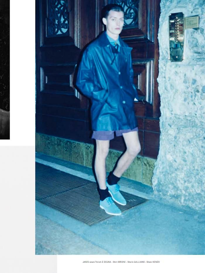 The Greatest #1 Photo Massimo Pamparana  Fashion Editor Matteo Greco  Grooming Erica Vellini - Green Apple Model Janis - L'Uomo Elite Photo Assistant Jonatan Emma