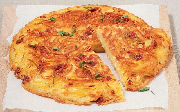 OMELETTE DE SPAGHETTI : http://www.gusto-arte.fr/recettes/omelette-de-spaghetti/