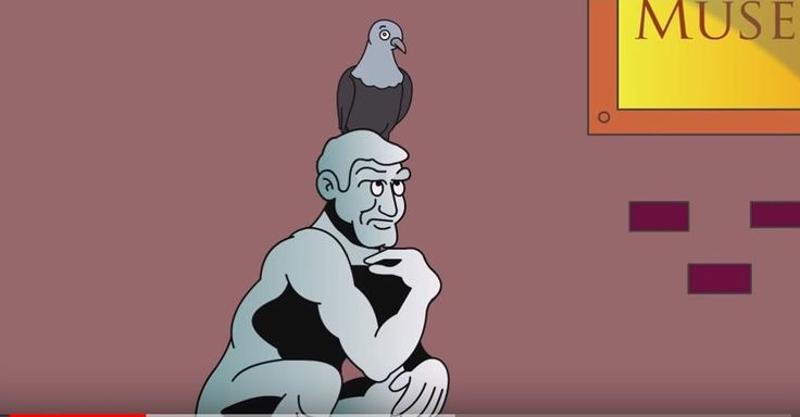 Funny cartoon about the classic Thinker sculpture and what the Thinker is thinking about baseball caps. Share animated cartoons on your websites or social media for free. No need to register, just copy and paste the code beneath cartoons you choose. http://videos.colemantoons.com/videos2.html
