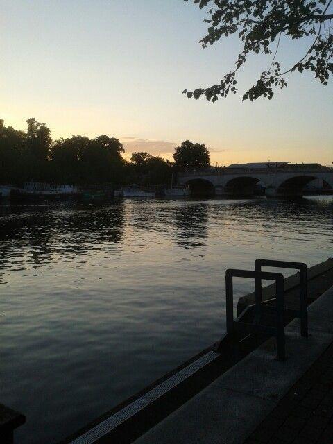 The Thames at Kingston